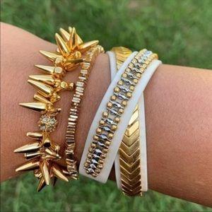 Stella & Dot Gilded Path Wrap Bracelet